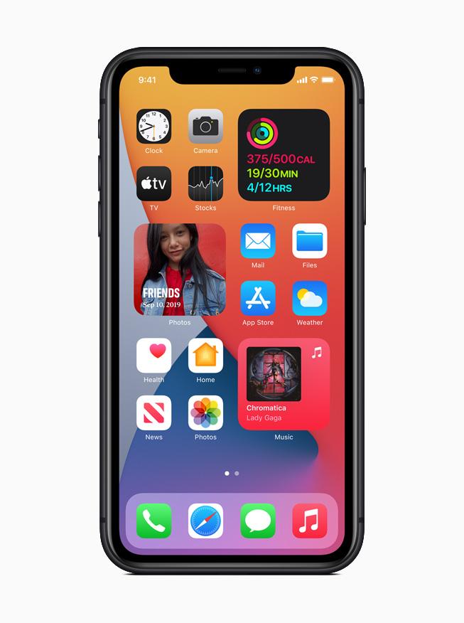 iPhone11 ios14 pantalla inicial