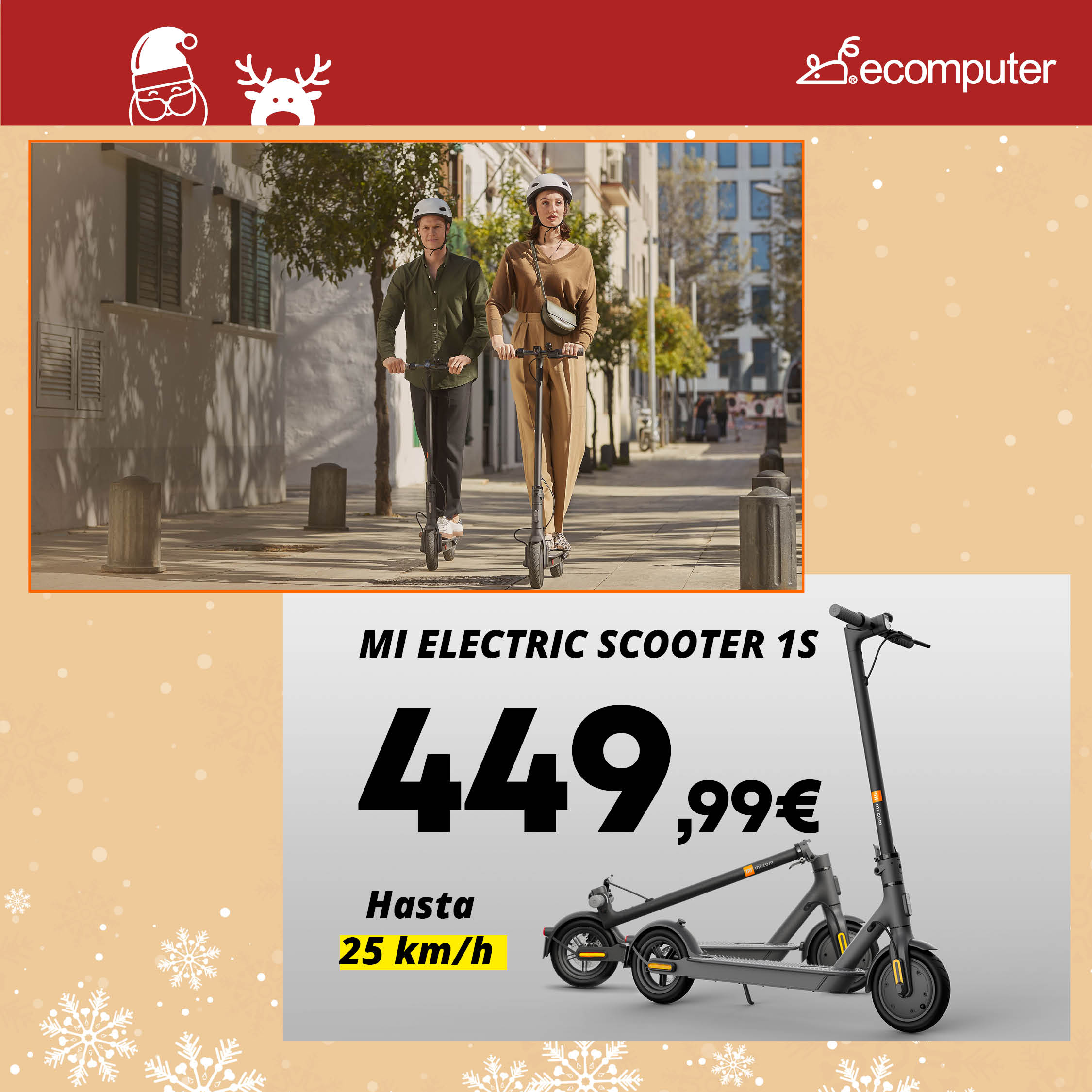Mi Electronic Scooter 1S