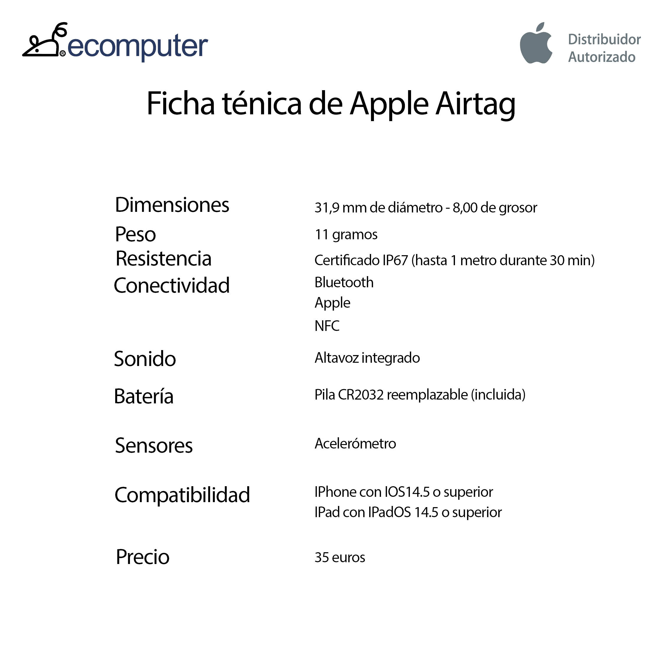 AIRTAG APPLE