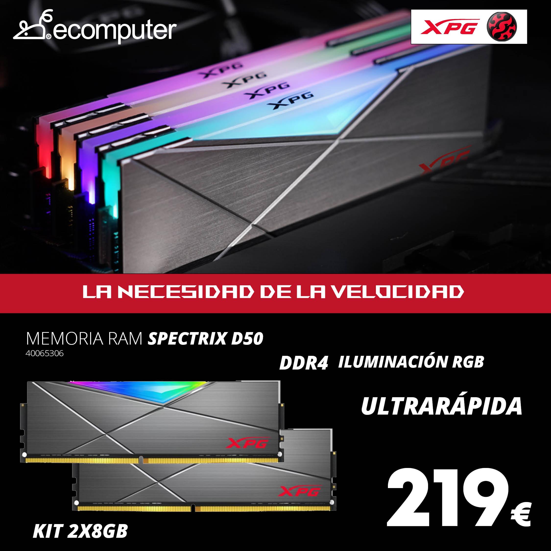 Memoria RAM SPECTRIX