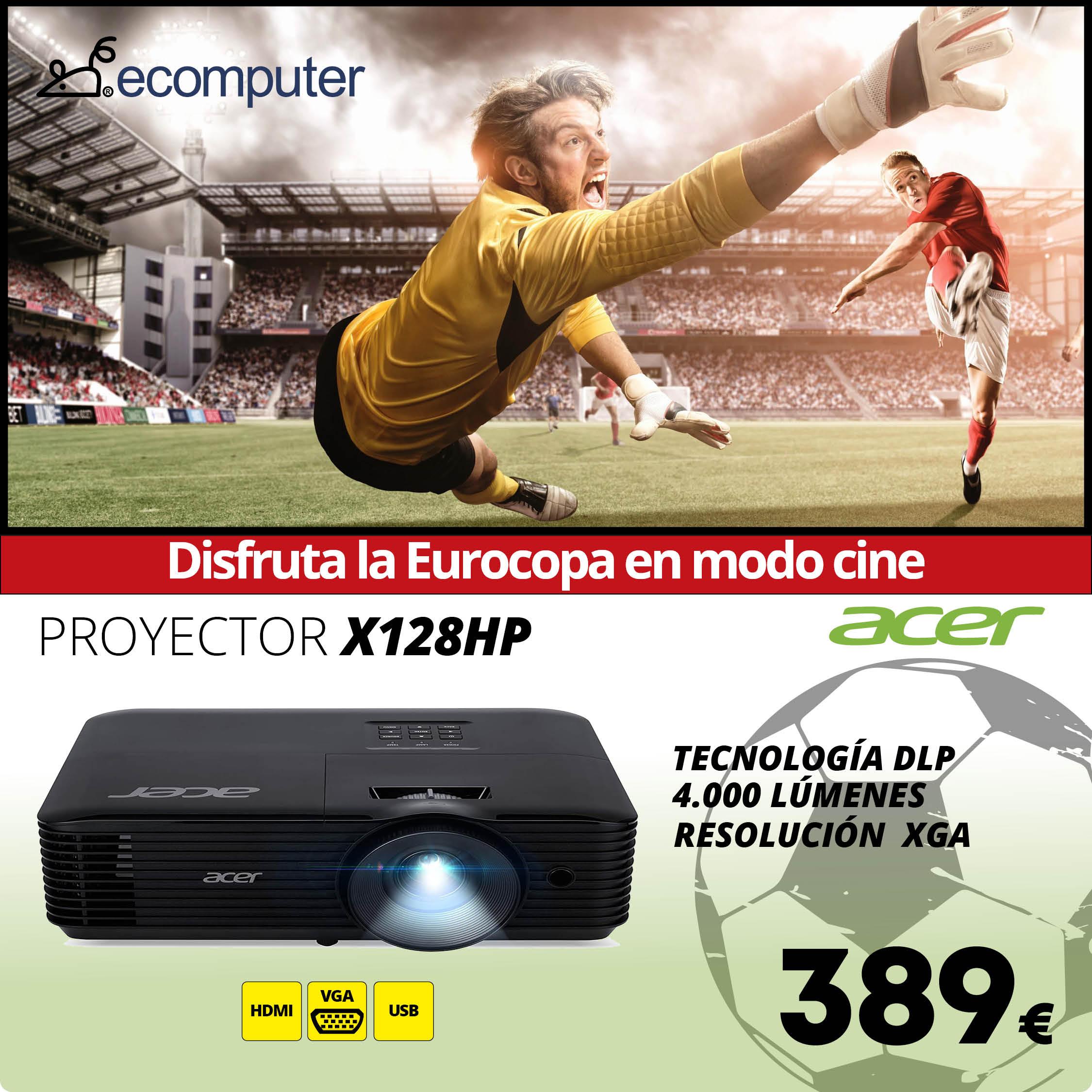 Proyector X128HP de Acer