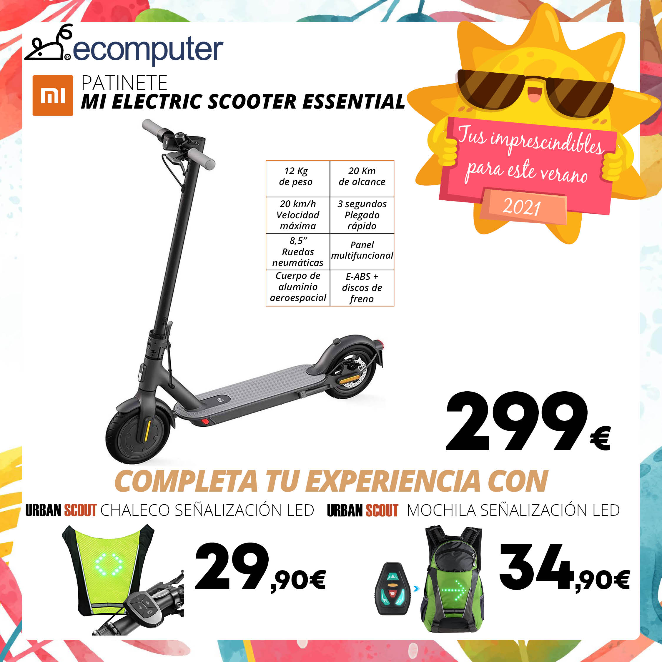 Patinete Mi Electric Scooter Essential