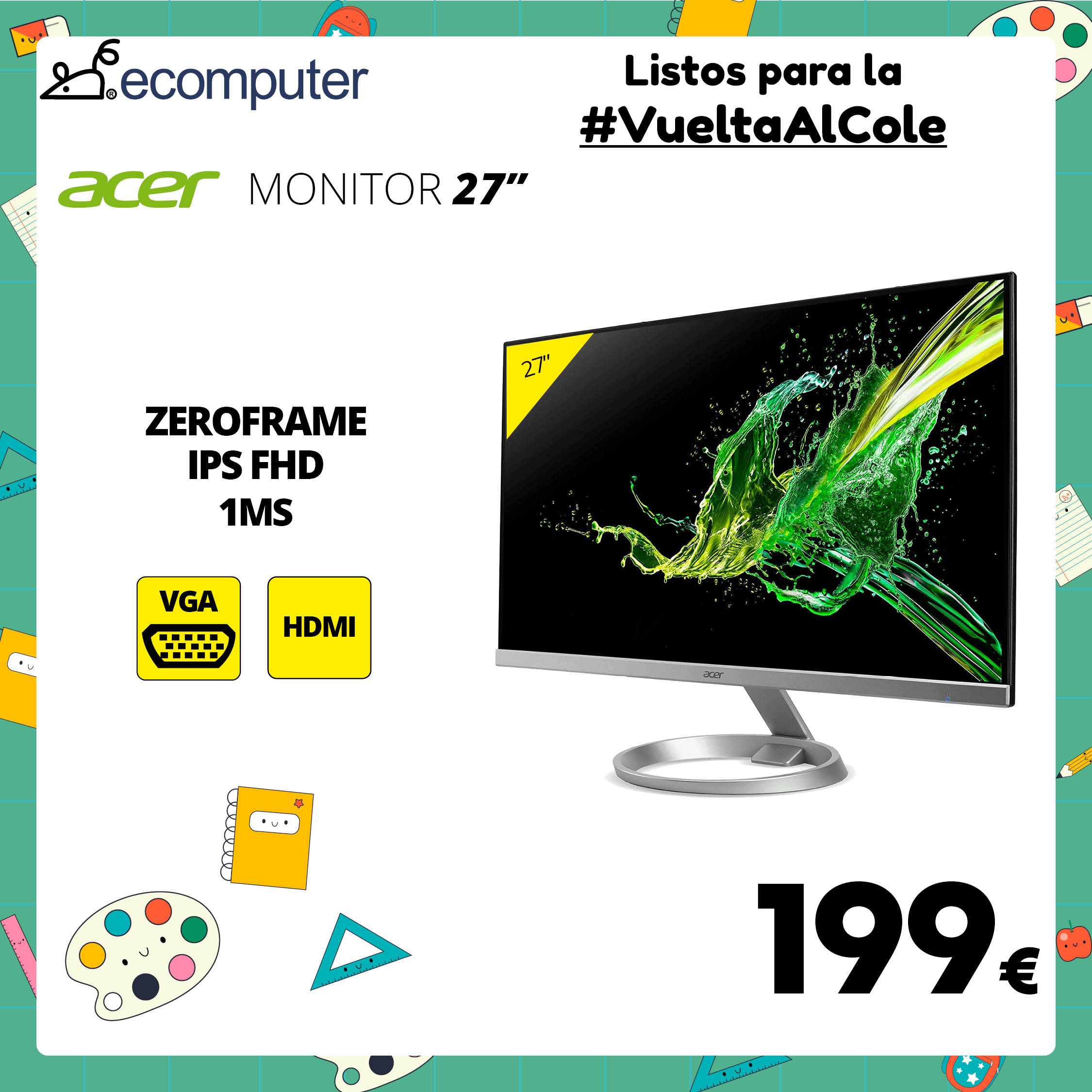 """Monitor Acer 27"""""""